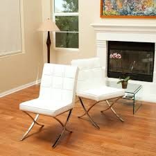 White Leather Dining Chairs Australia Dining Chairs Pandora Modern Design White Leather Dining Chairs