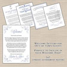 welcome to our wedding bags hotel welcome bag letters and wedding designsbydvb