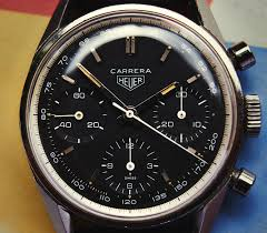 carrera watches collectors corner heuer carrera 2447nt the home of vintage