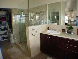 bathroom with closet design best 25 small master bath ideas on
