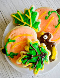 thanksgiving cutout sugar cookies recipe diaries