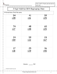 subtraction with regrouping coloring worksheets addition