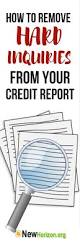 dispute credit report letter template best 25 credit dispute ideas only on pinterest you report do you have many unauthorized inquiries on your credit report here s how to remove hard