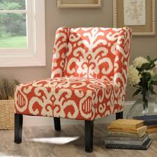 coral ikat slipper chair kirklands