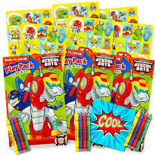 amazon com transformers rescue bots ultimate party favors packs
