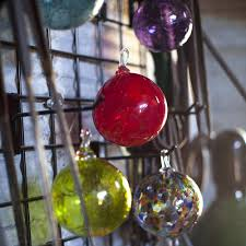 find a hand blown glass ornament at salado glassworks