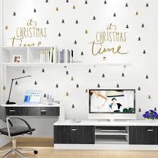 online get cheap merry christmas wall decal aliexpress com 2017 newest christmas tree wall sticker for kids rooms merry christmas diy wall decals home decoration