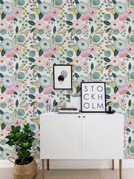 Self Stick Wallpaper by Seamless Flower Self Adhesive Wallpaper Vintage Floral