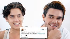 Cole And Company Vanities Dylan Sprouse Trolls Brother Cole And Kj Apa On Instagram Stories