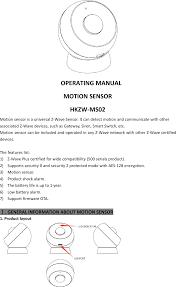 can you put a motion sensor on any light ms02 motion sensor user manual hank electronics co ltd