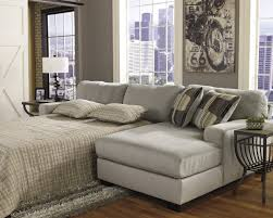 Large Sectional Sofa With Chaise Lounge by Furniture Grey Microfiber Sleeper Sofa With Arms And Back Added