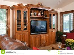 Home Entertainment Furniture Family Home Entertainment Center Royalty Free Stock Photography
