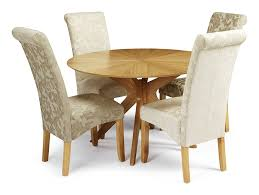 Oak Dining Chairs Serene Furnishings The Dining Collection Kingston Floral