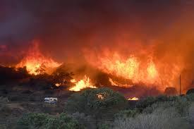 victorville monster truck show fires dominate news pilot bluecut blazes are biggest local