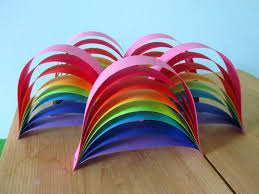 Rainbow Party Decorations From House To Home Rainbow Birthday Party