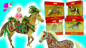 breyer holiday stallion woodland splendor u0026 blind bag surprises