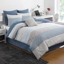 Navy Stripe Comforter Set 100 Cotton Kids Comforter Sets You U0027ll Love Wayfair