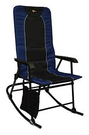 Padding For Rocking Chair Amazon Com Faulkner 49598 Dakota Rocking Chair Blue Black