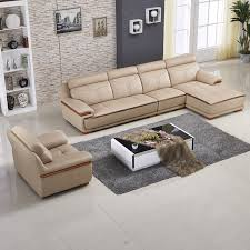 Corner Leather Sofa Lovable Sofa Factory With Modern Apartment Living Room Sofa