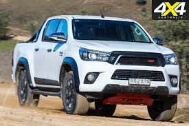 2017 Toyota Hilux Trd Vs 2017 Ford Ranger Fx4 Comparison Review