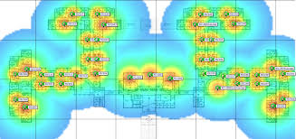 Wifi Heat Map Unf Information Technology Services Coverage Map Building Detail