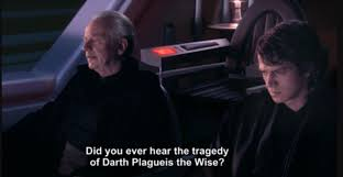 when your english teacher asks for an example of irony prequelmemes
