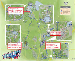 Map Of Walt Disney World by How Next Week U0027s Disney Marathon Will Affect Park Crowds