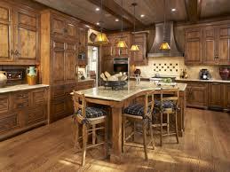 granite countertops knotty alder kitchen cabinets lighting