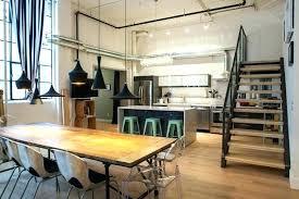 cuisine style loft industriel table loft industriel cuisine type industrielle cuisine style