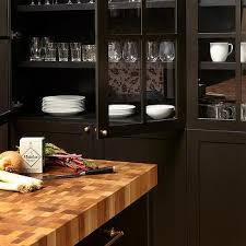 kitchen black china cabinet design ideas