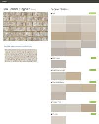 san gabriel kingsize brown brick general shale behr ppg