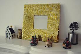 diy home decor glass tile mirror frame yolanda soto lopez diy