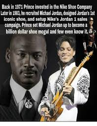 Michael Jordan Shoe Meme - back in 1971 prince invested in the nike shoe company later in 1983