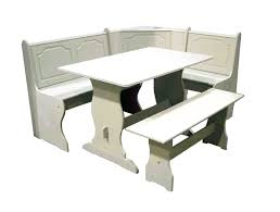 White Kitchen Furniture Sets 23 Space Saving Corner Breakfast Nook Furniture Sets Booths