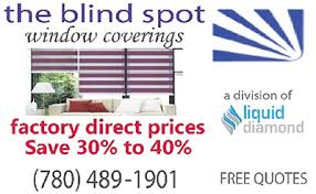 Window Blind Stop - the blind spot