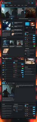 wp themes video background blackfyre premium responsive gaming community wordpress theme