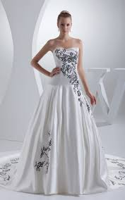 and white wedding dresses white and black wedding dress gowns two tone bridal dresses