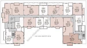 pool cabana floor plans nine at mary brickell village condos
