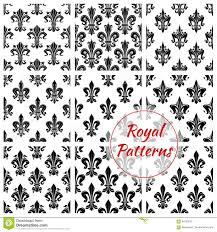 what is floral pattern in french royal floral vector seamless patterns set stock vector