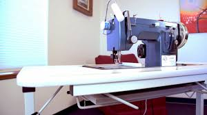 Folding Sewing Machine Table Ultrafeed Collapsible Sewing Table Demo Youtube