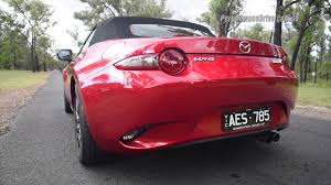 mazda motor cars 2016 mazda mx 5 1 5l manual 0 100km h u0026 engine sound youtube