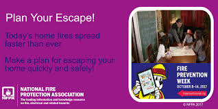 Fire Evacuation Plan For Care Homes by Fire Prevention Week Social Media Messages