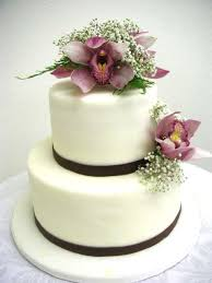 Wedding Cake Flowers Flower Decorated Cake Real Flower Vs Sugar Flower California