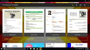 resume sles for freshers download mp3 cv s resume templates app for windows 10 pc by apps4 store