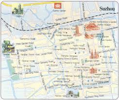 Map China Suzhou Map China Travel Tools