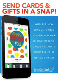 send a card online send cards gifts in a snap with the new sendoutcards mobile app