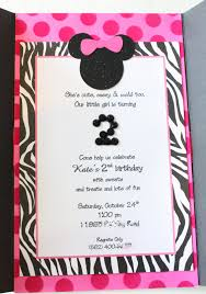 kate u0027s minnie mouse invitation heavenly blooms