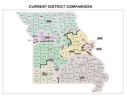 Map Of Missouri Counties Mo Gop Redistricting Maps May Face Filibuster St Louis Public