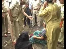 gujarat police dragging u0026 tearing the clothes of women farmers