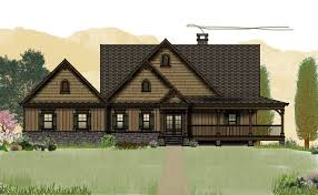 cabin floor plans with porches